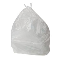 Jantex vuilniszakken wit 1000 stuks 20ltr.