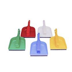 Handveger met stofblik (hygienisch) in 5 kleuren