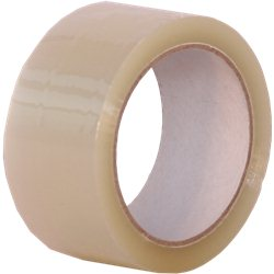 Tape transparant 48mm x 66m op rol. Doos: 36 rol.
