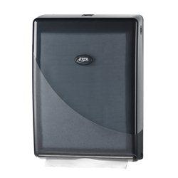SAPO Black Line handdoekdispenser t.b.v. c-fold en multifold handdoekpapier
