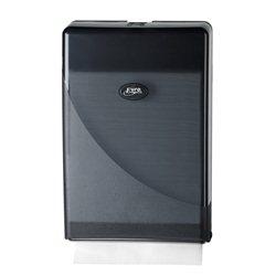 SAPO Black Line handdoekdispenser t.b.v. minifold handdoekpapier