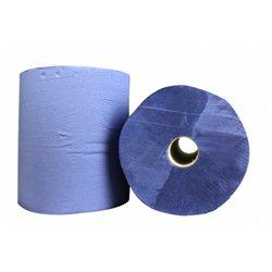 Industriepapier SAPO perf. CEL Blauw 3L 380 m x 24 cm 2 rol per pak