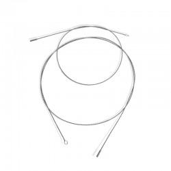 Flexibel RVS kabel voor pijpenborstelkop 1500 mm