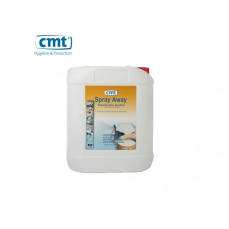 Disinfection alcohol CMT Spray-Away 5L/can - 14026N - Doos: 4 x 5L
