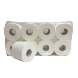 Toiletpapier supersoft cellulose 3-laags 250 vel 64 rol per pak.