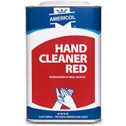 Americol hand cleaner Red 4 x 4,5 Liter