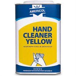 Americol hand cleaner Yellow 4 x 4,5 Liter