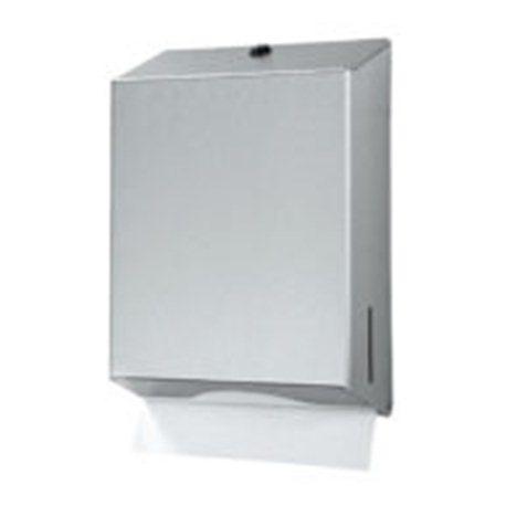Handdoekdispenser maxi, RVS