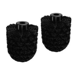 Toiletborstel Satino Black 2 stuks