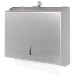 RVS handdoekdispenser compact