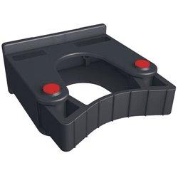 Toolflex steelklem zwart ø20/30mm los