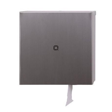 Jumborol dispenser Qubic-line RVS - Mini / Maxi All Care