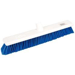 Hygiënische bezem – zachtharig 45cm, blauw