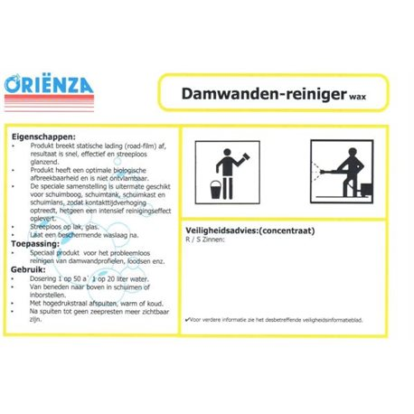 Damwandenreiniger wax Can 10L