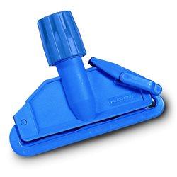 Mopklem kunststof blauw