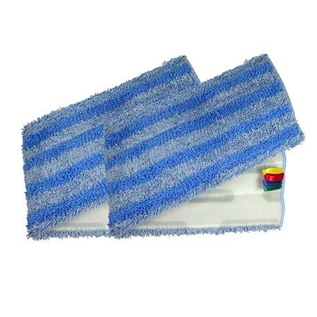 Microvezel mop blauw Velcro 42 cm (voor Mox mop)