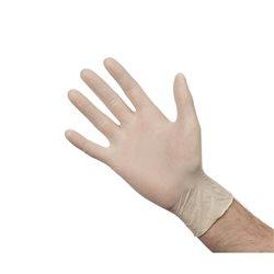 Handschoenen latex poedervrij - maat L (Box 100)