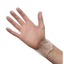 Handschoenen vinyl poedervrij - maat L (Box 100)
