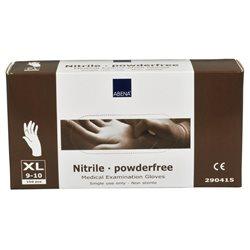 Nitril handschoen Abena Medical (100 stuks!) ongepoederd, blauw XL