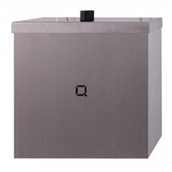 Qbic-line gesloten afvalbak 9 liter
