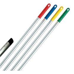 Aluminium steel 145cm, met schroefdraad - Blauw