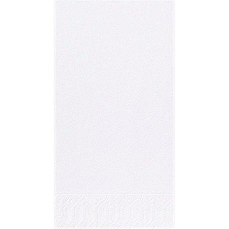 Servet 2 laags Tissue 33x33cm 1/8 vouw wit (Doos: 1400 stuks) Finess