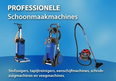 Professionele schoonmaak machines